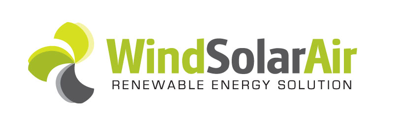 Wind Solar Air Logo Design