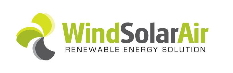 Wind Solar Air Logo Design