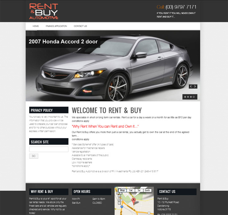 Rental Search Websites: DriverLayer Search Engine