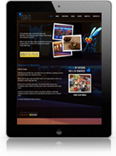 iPad Website Design