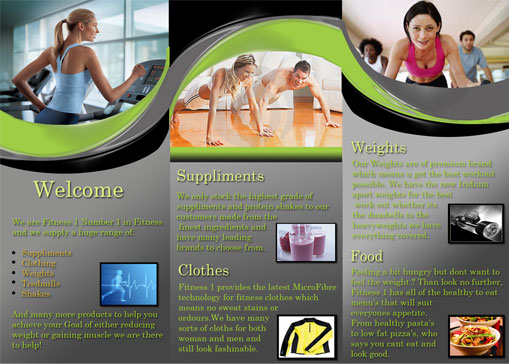 Fitness  BrochureBack  Cheap Website Design Melbourne  You Go