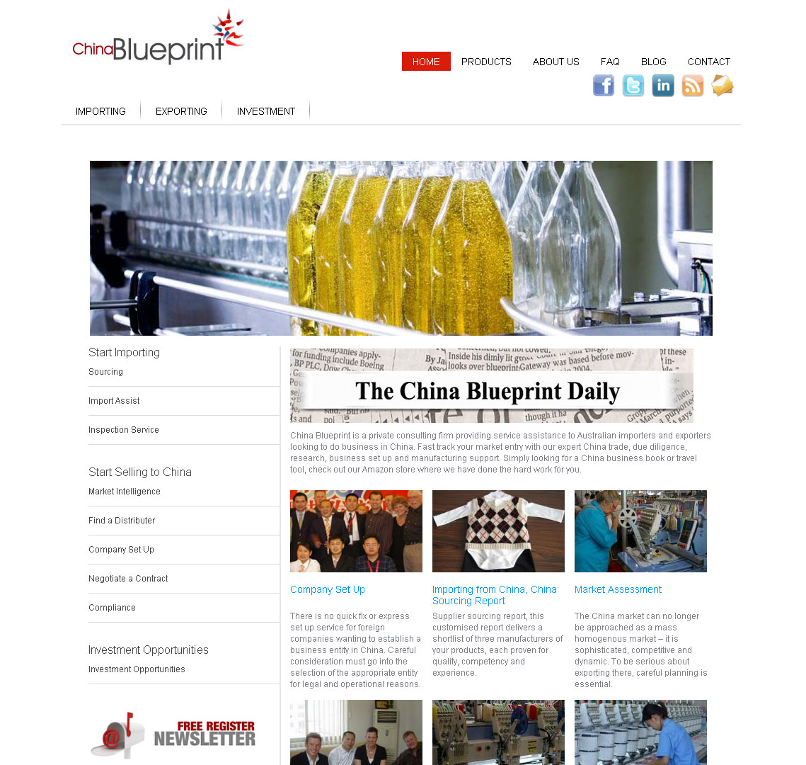 China blueprint cheap website design melbourne you go designs project description malvernweather Choice Image