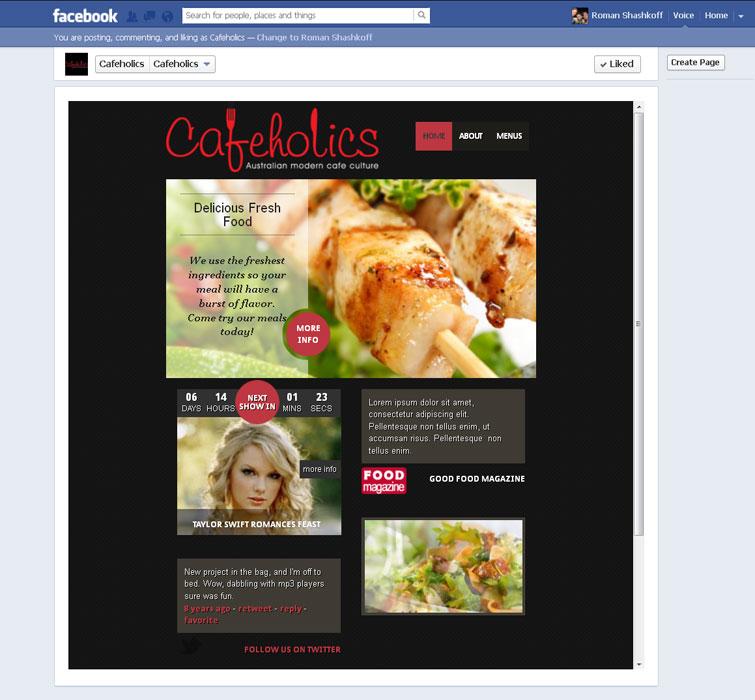 Facebook-Page-App