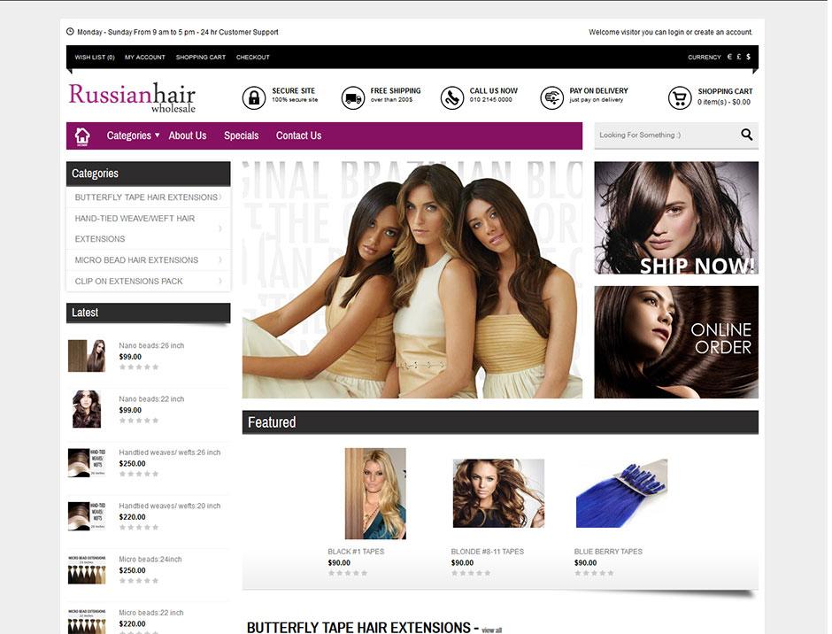 Russian hair website design cheap website design melbourne you russian hair website design pmusecretfo Choice Image
