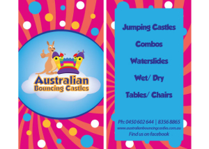 jumping-castle-business-card-design