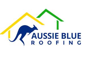 Aussie-Blue-Roofing-Logo-Design