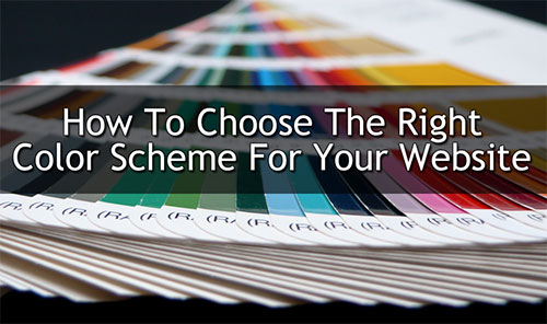 Choosing The Right Website Colors