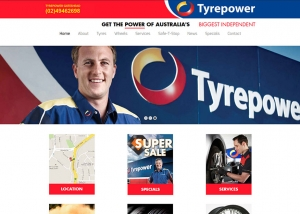 Tyre-Power-Website-Design