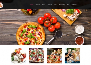 Pizza-Website-Design