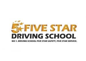 Five-Star-Driving-School-Logo-Design
