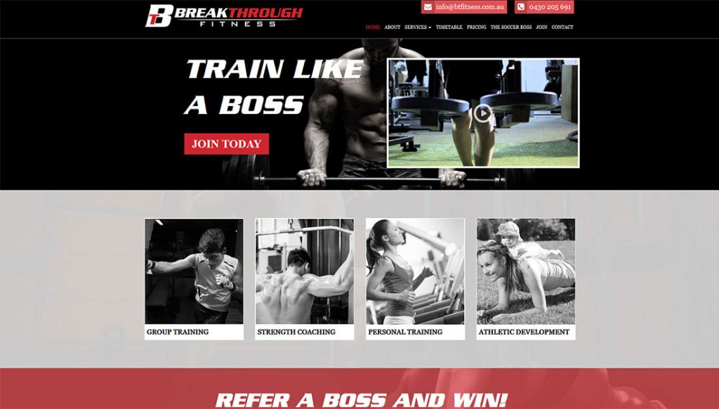 Breakthrough-Fitness-Website-Design