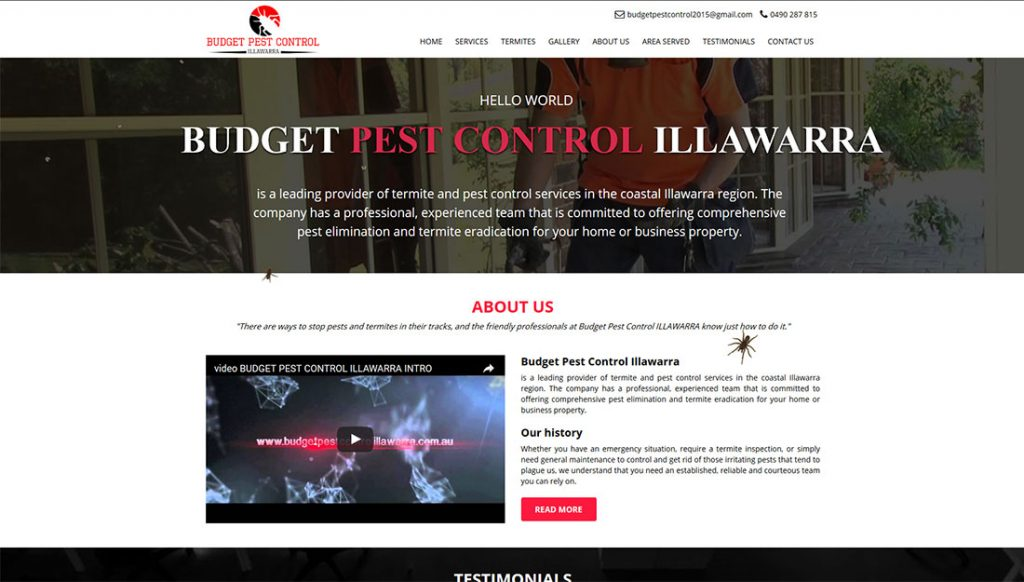 Budget-Pest-Control-Website-Design