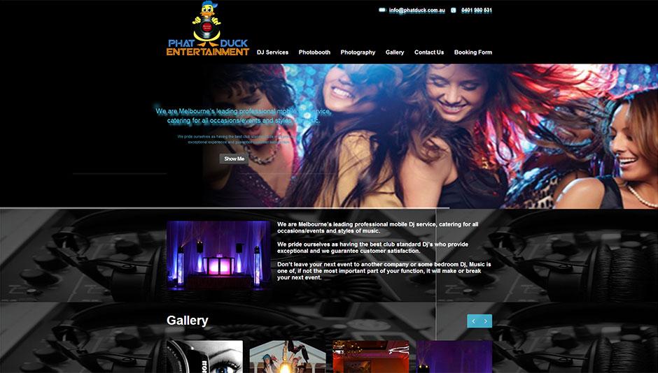 DJ-Website-Design