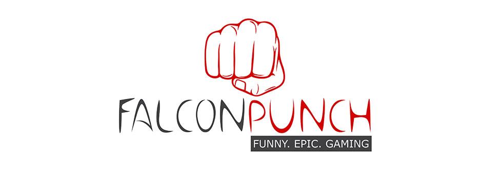 Falcon-Punch-Logo-Design