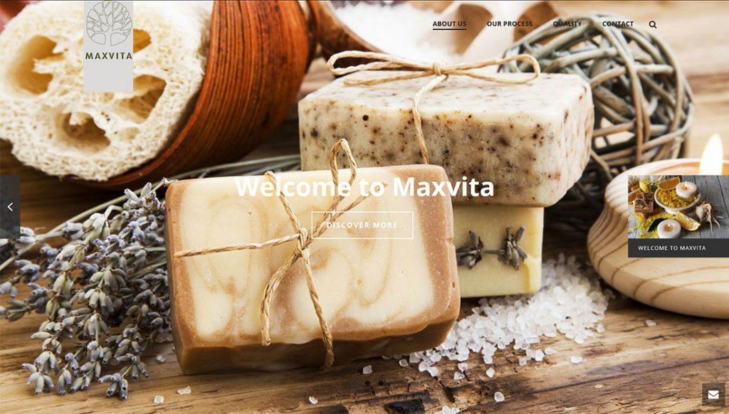 Maxvita-Website-Design