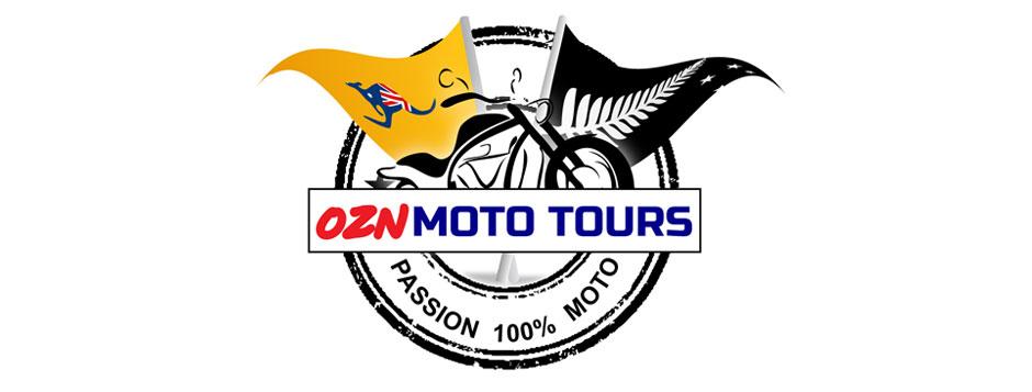 OZN-Moto-Tours-Logo-Design