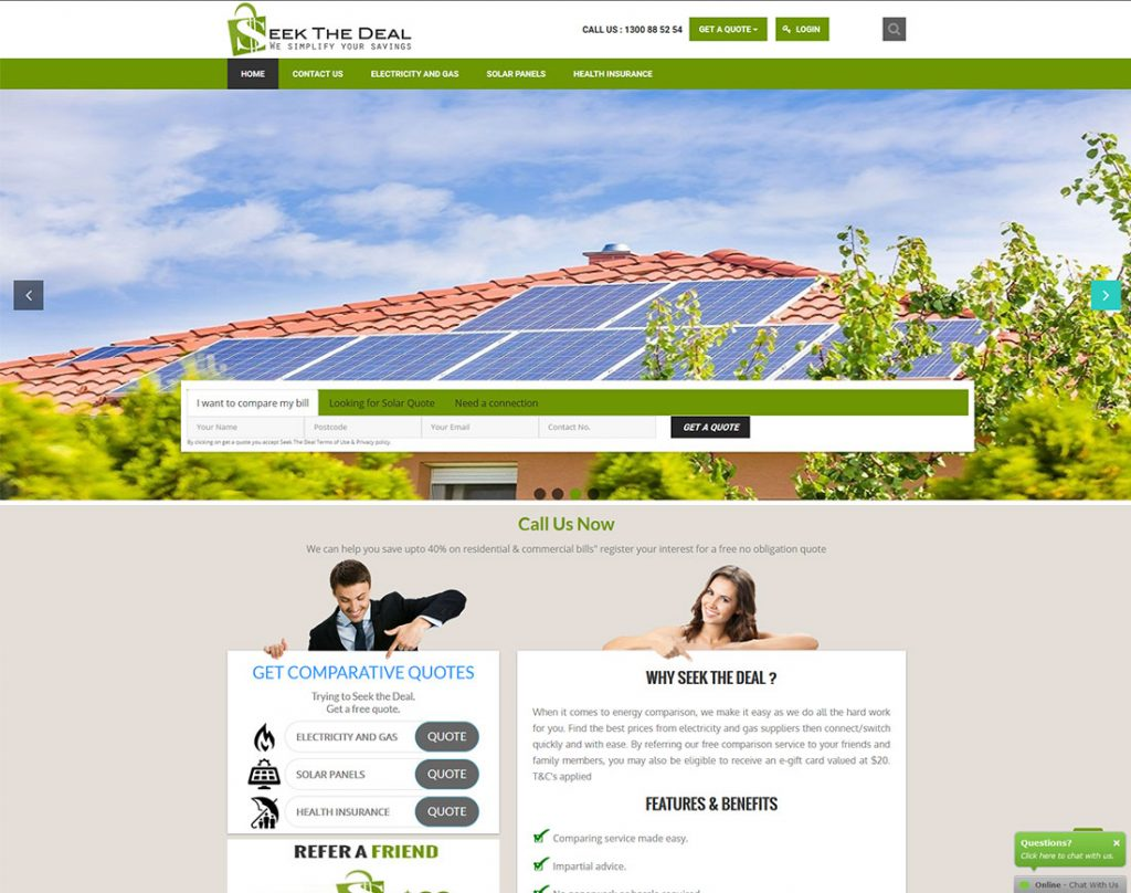 Seek-The-Deal-Website-Design