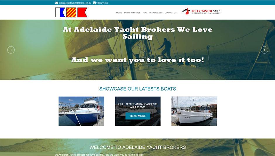 Yacht-Website-Design
