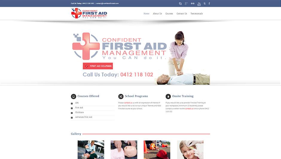 first-aid-website-design