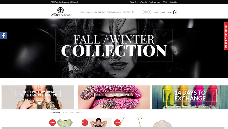 online-clothes-website-design