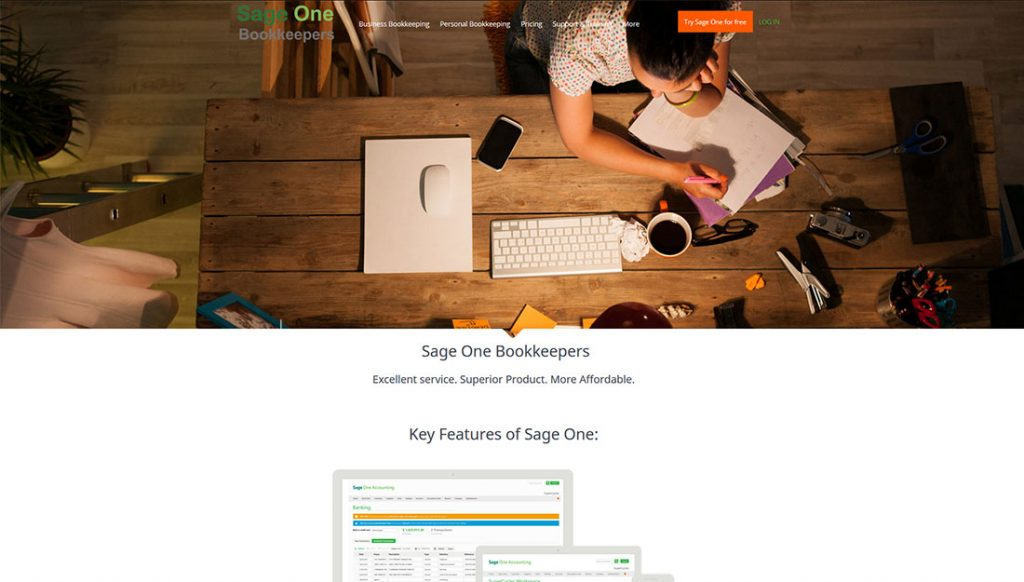 sage-one-book-keepers-website-design