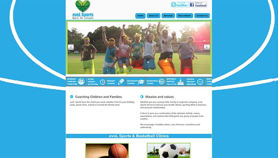 sports-website-design
