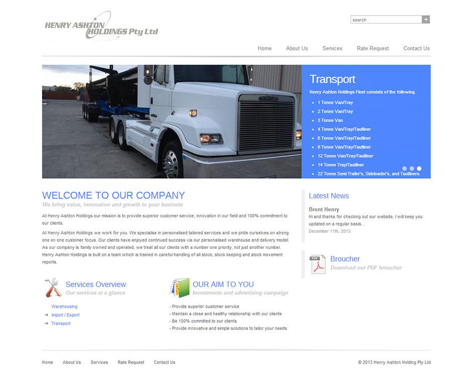transport-website-design